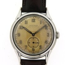 Eterna Steel 35mm Automatic 90106 pre-owned United Kingdom, West Sussex
