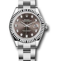 Rolex Lady-Datejust Steel 28mm Silver United States of America, New York, NY