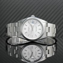 Rolex Oyster Perpetual Date Сталь 34mm Cеребро Без цифр