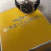 Breitling Shadow Flyback 38mm Black No numerals
