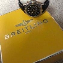 Breitling Shadow Flyback 38mm Negro Sin cifras