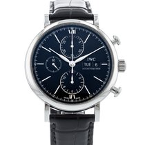 IWC Portofino Chronograph Steel 42mm Black United States of America, Georgia, Atlanta