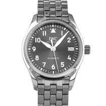 IWC Pilot's Watch Automatic 36 Steel 36mm Grey Arabic numerals United States of America, Maryland, Baltimore, MD