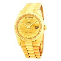 Rolex Day-Date 36 Gelbgold 36mm Champagnerfarben Arabisch