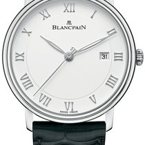 Blancpain Villeret Ultra-Slim new Automatic Watch with original box and original papers 6651-1127-55B
