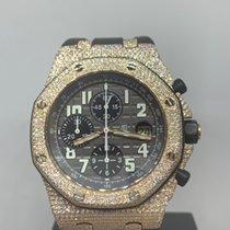 Audemars Piguet Royal Oak Offshore Chronograph Ouro rosa 42mm Preto