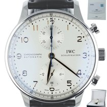 IWC Portuguese Chronograph Steel 40.9mm White Arabic numerals United States of America, New York, Smithtown