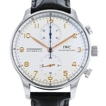 IWC Portuguese Chronograph Acier 41mm Champagne Arabes France, Paris