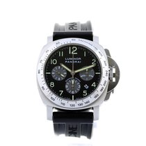 Panerai Luminor Marina Automatic Panerai Automatic Chrono Pam 00162 2004 - 44mm - Full Set 2004 pre-owned