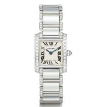 Cartier Tank Française White gold Silver United States of America, New York, New York