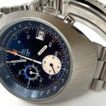 Omega Speedmaster Mark II Steel 41mm Blue No numerals