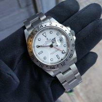 Rolex Explorer II Сталь 40mm Белый Без цифр Россия, Saint-Petersburg