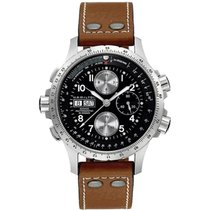 Hamilton H77616533 Steel 2019 Khaki X-Wind 44mm new