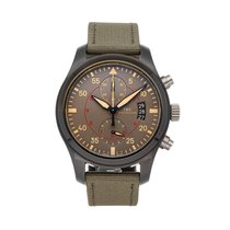 IWC Pilot Chronograph Top Gun Miramar Ceramic 46mm Arabic numerals