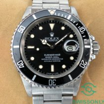Rolex Submariner Date 16800 1987 pre-owned