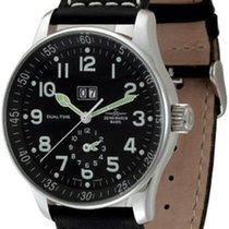 Zeno-Watch Basel X-Large Pilot Big Date + Dual-Time