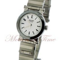 Movado Vizio Ladies, White Dial - Stainless Steel on Bracelet
