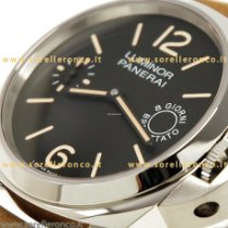 Panerai Luminor Marina 8 Days PAM00590 Panerai Marine Luminor 44mm 8 Days Nero Pelle 2020 neu