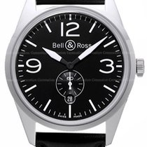 Bell & Ross Steel 44.6mm Automatic BR123-OB new United States of America, New York, Brooklyn