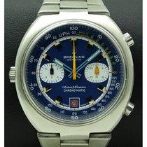 Breitling Transocean Chronograph Stahl 42mm Blau Schweiz, Lugano