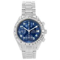 Omega Speedmaster Date Blue Arabic Dial Mens Watch 3513.82.00
