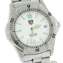 TAG Heuer Automatic Swiss 35mm Stainless Steel Date Watch WK2110