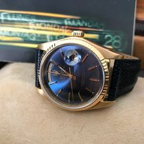 Rolex ++ Day-Date 18038 ++ Gelbgold ++ blue Dial ++ 1982/83