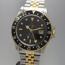 Rolex Oyster Perpetual GMT Master 16753, 1985 Stahl/Gold...