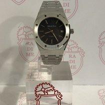 Audemars Piguet Royal Oak Steel Dial Black Long Index 14790ST/...