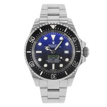 "Rolex Sea-Dweller Deepsea ""James Cameron"" 116660 dbl Steel Watch"