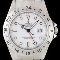 Rolex Explorer II pre-owned 40mm Steel