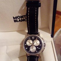 Montblanc Steel Quartz Black pre-owned Summit