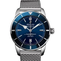 Breitling Superocean Héritage II 46 Steel 46mm Blue United States of America, New York, New York