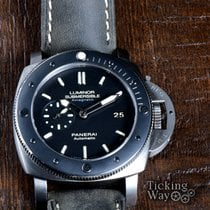 Panerai Luminor Submersible 1950 3 Days Automatic pre-owned 47mm Titanium