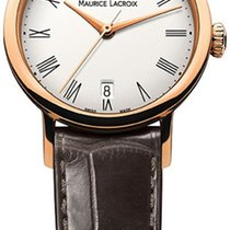 Maurice Lacroix 28mm Automatisk ny Les Classiques Tradition Hvid