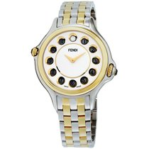Fendi Steel 38mm Quartz F107134000T06 new