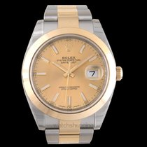 Rolex Datejust Yellow gold 41.00mm Champagne United States of America, California, San Mateo
