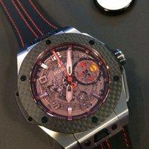 Hublot 401.QX.0123.VR Carbon Big Bang Ferrari 45mm gebraucht