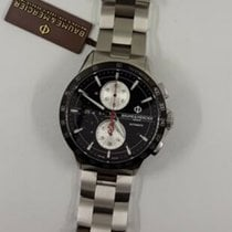 Baume & Mercier Clifton M0A10403 BAUME & MERCIER CLIFTON Acciaio Nero Chrono 44mm new
