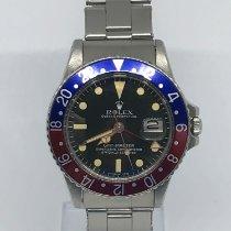 Rolex GMT-Master nuevo 1977 Automático Reloj con estuche original 1675