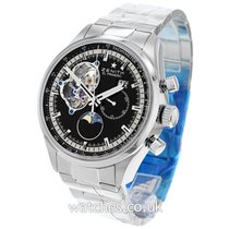 Zenith new Automatic Display Back 45mm Steel Sapphire Glass