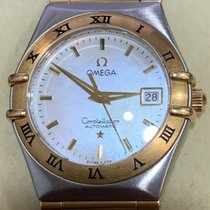 Omega Constellation Ladies Gold/Steel 28mm Singapore