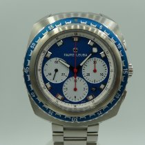 Favre-Leuba Steel Automatic Blue 44mm pre-owned