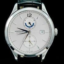 Montblanc Heritage Chronométrie Staal 41mm Zilver Arabisch
