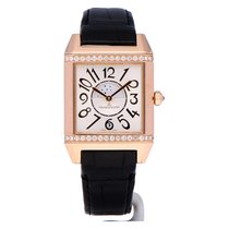 Jaeger-LeCoultre Reverso Squadra Lady Duetto Rose gold 42mm Silver