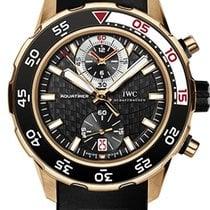 IWC Aquatimer Chronograph Růžové zlato 44mm Černá Bez čísel