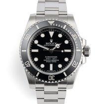 Rolex 114060 Steel 2015 Submariner (No Date) 40mm pre-owned United Kingdom, London