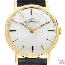 Movado Geelgoud 34mm Handopwind tweedehands
