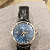 Baume & Mercier Clifton Steel 43mm Blue Arabic numerals United States of America, New York, New York