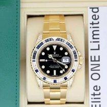 Rolex 116758SA Zuto zlato 2019 GMT-Master II 40mm nov